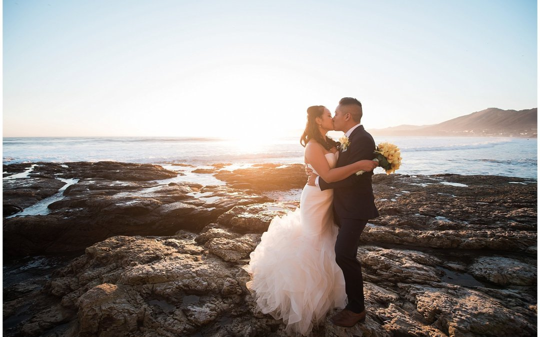 Ha & Allen | The Cliffs Resort Pismo Beach Central Coast Wedding