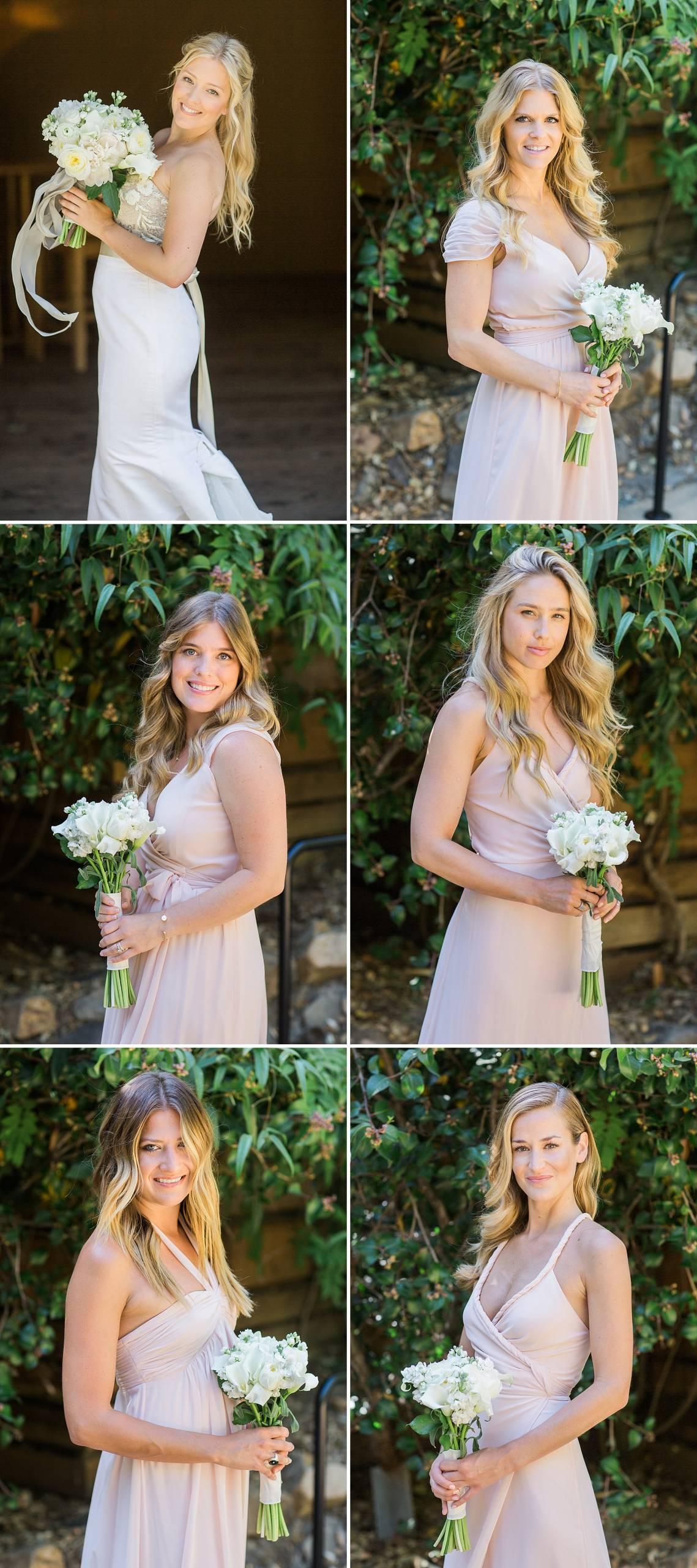 Bridesmaids Photo Calistoga Ranch Wedding Photos