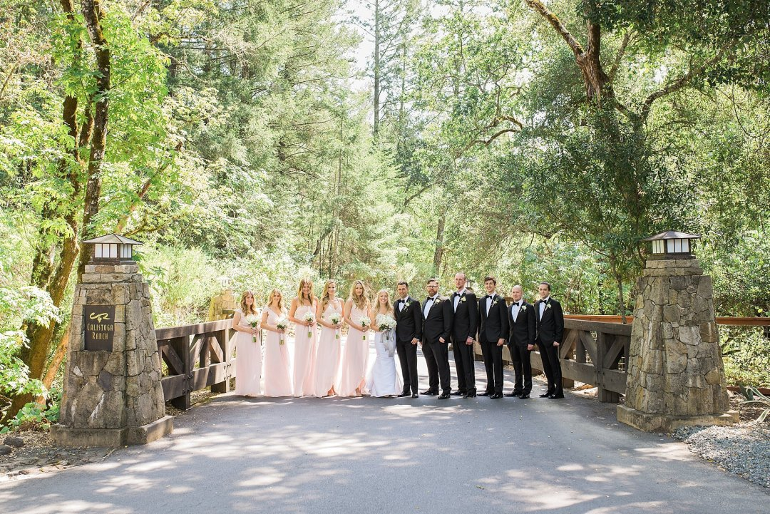 Calistoga Ranch Wedding Photos