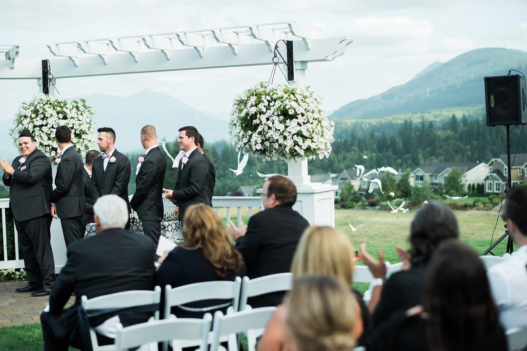 Christine & Josh Seattle Washington Snoqualmie Ridge Country Club Wedding_0066