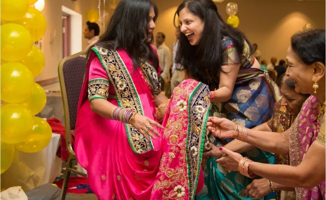 Indian Baby Shower Ceremony Photographer Boston Fun And