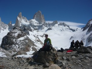 Climbing the Andes in Patagonia