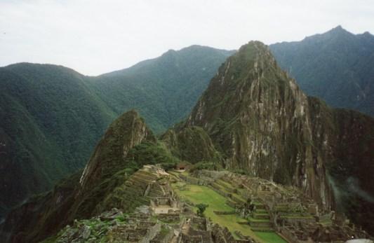 Machu Picchu circa 2001