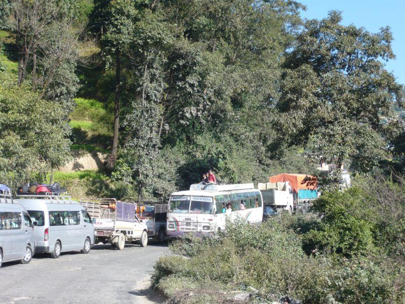 Leaving Kathmandu