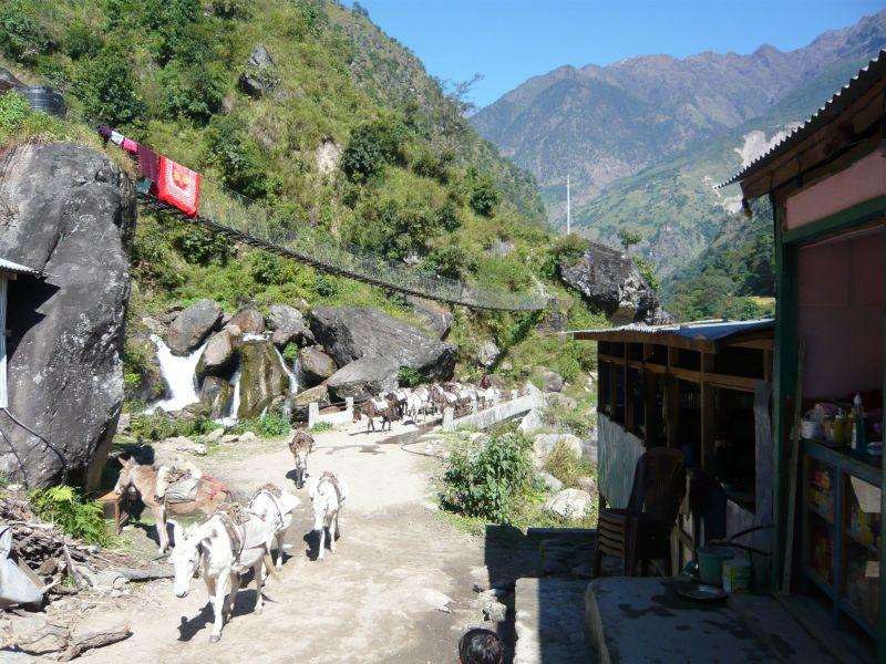 Villages along the Annapurna Trek