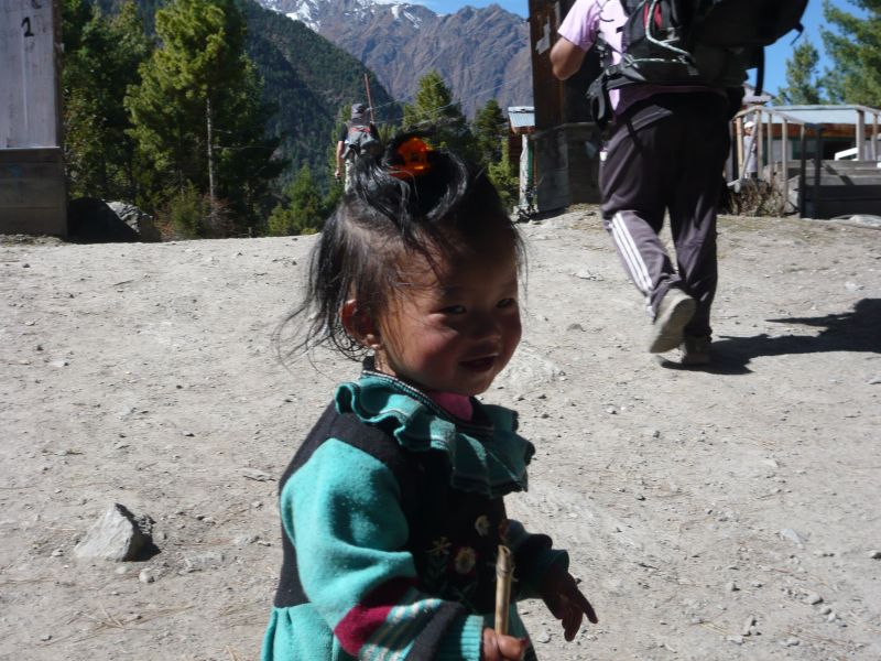 Young Nepali girl