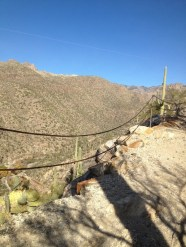 Phoneline Trail, Sabino Canyon, Tucson, Arizona