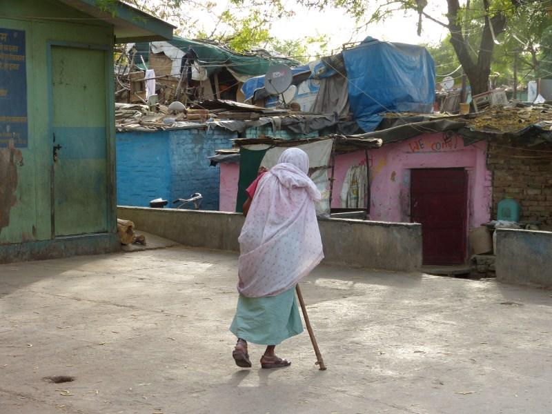 Woman in the Vivekananda Camp