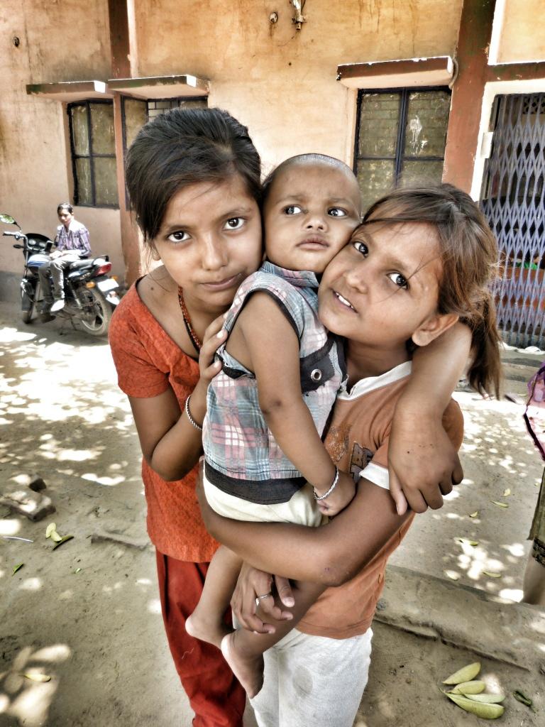 Children within the Indira Kalyan Camp