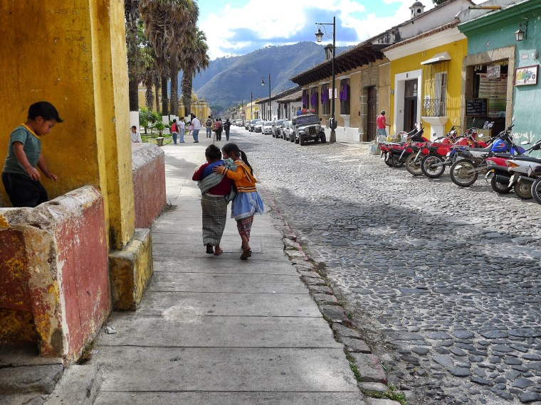 Children of Antigua, Guatemala