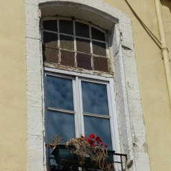Marseille's flower box windows