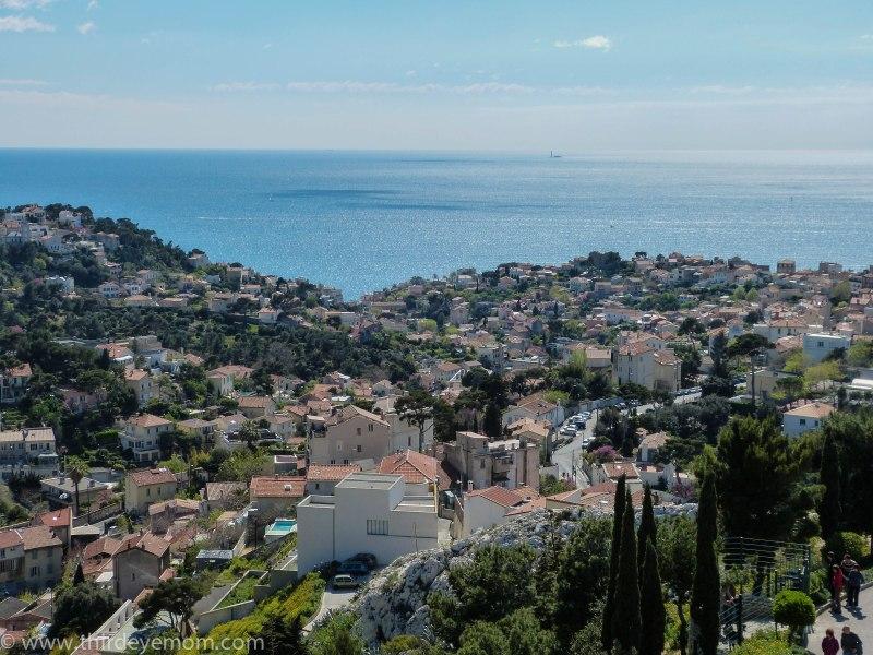 View from Notre Dame de la Garde of Marseille