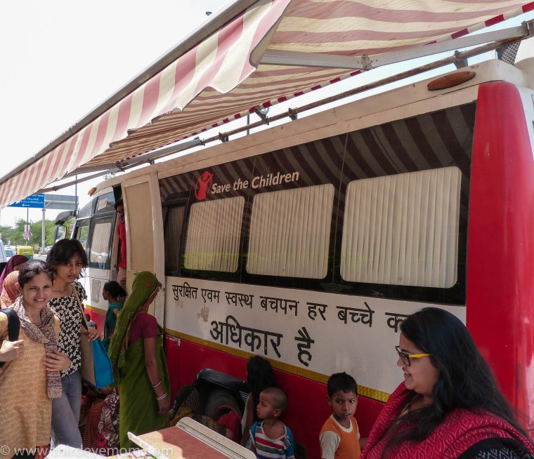 Save the Children Mobile Health Unit India