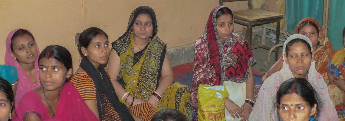 Pregnant mothers class at Indira Kalyan