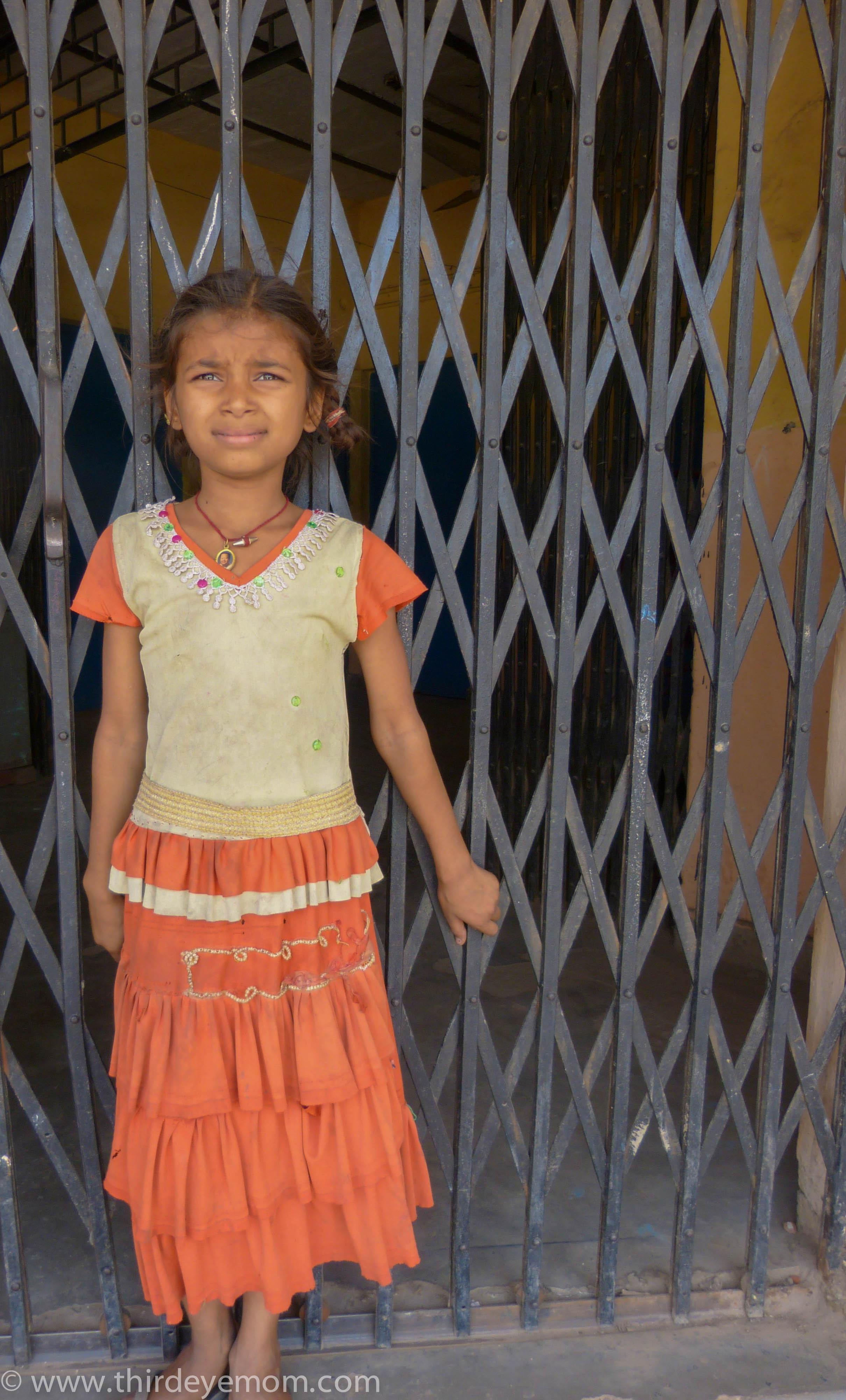 The children of Indira Kalyan Camp