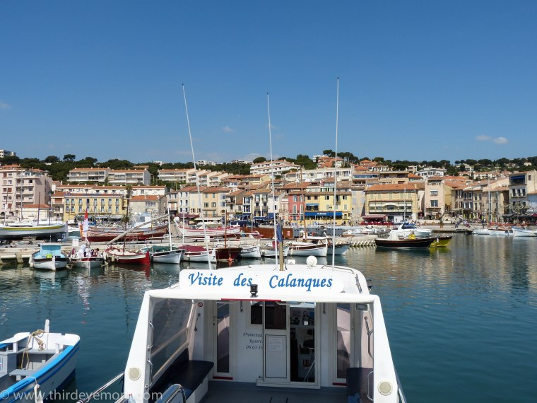 Cassis is a jumping off point to the calanques. Many boats offer tours from the harbor to the calanques.