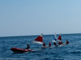Sailing in Cassis