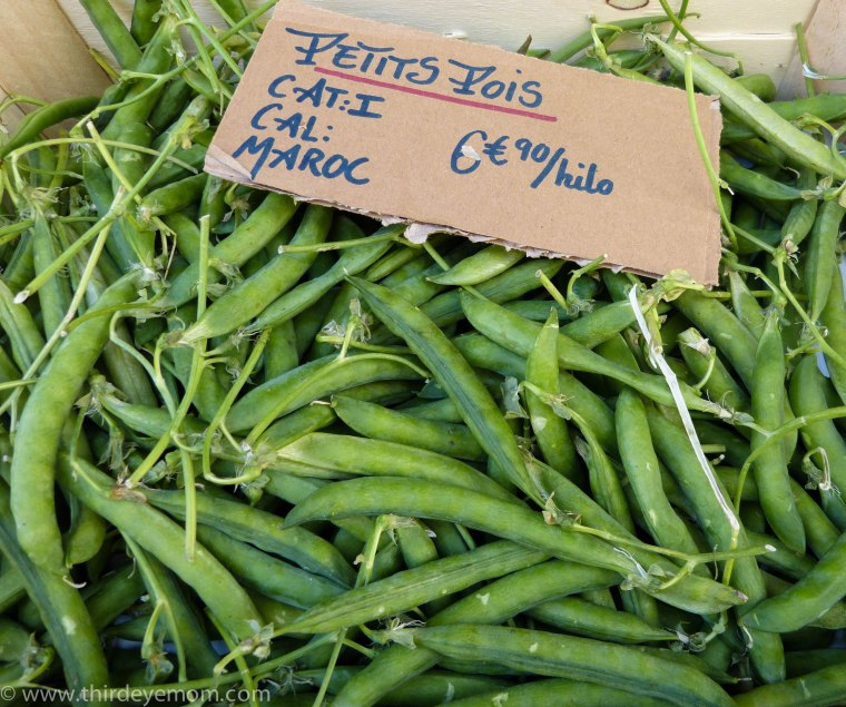 Fresh French Peas