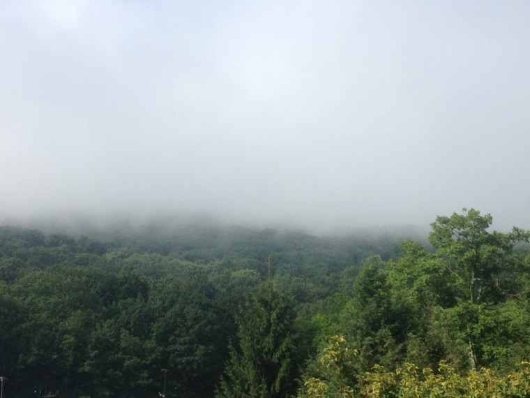 Fog in the Blue Ridge Mountains