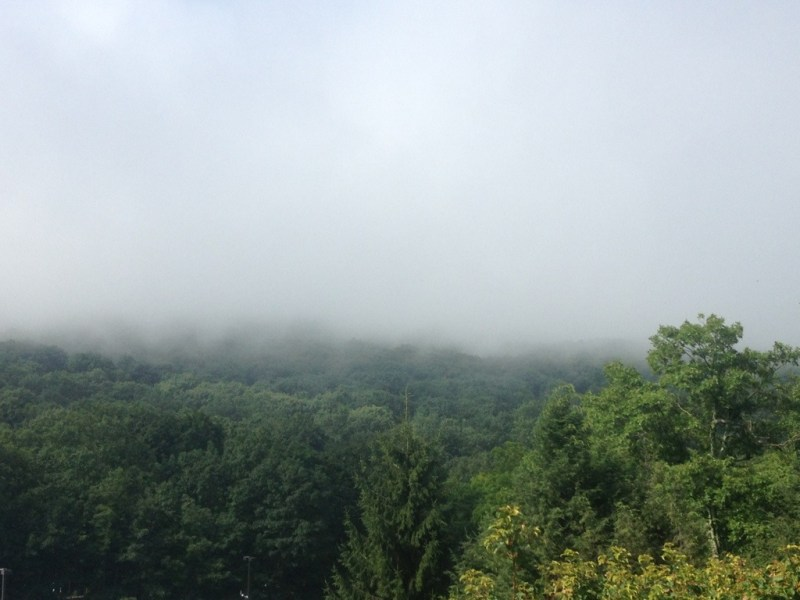 Fog in the Blue Ridge Mountains