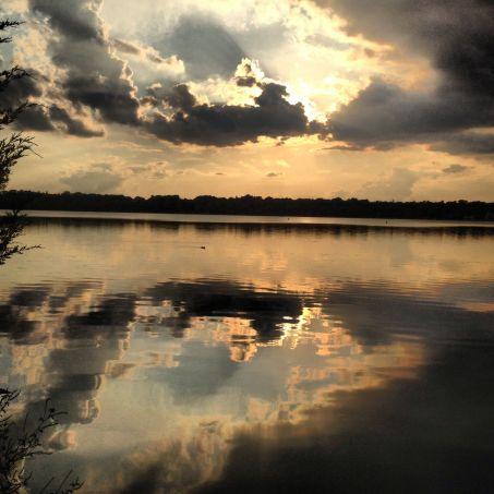 Sunset on Lake Harriet