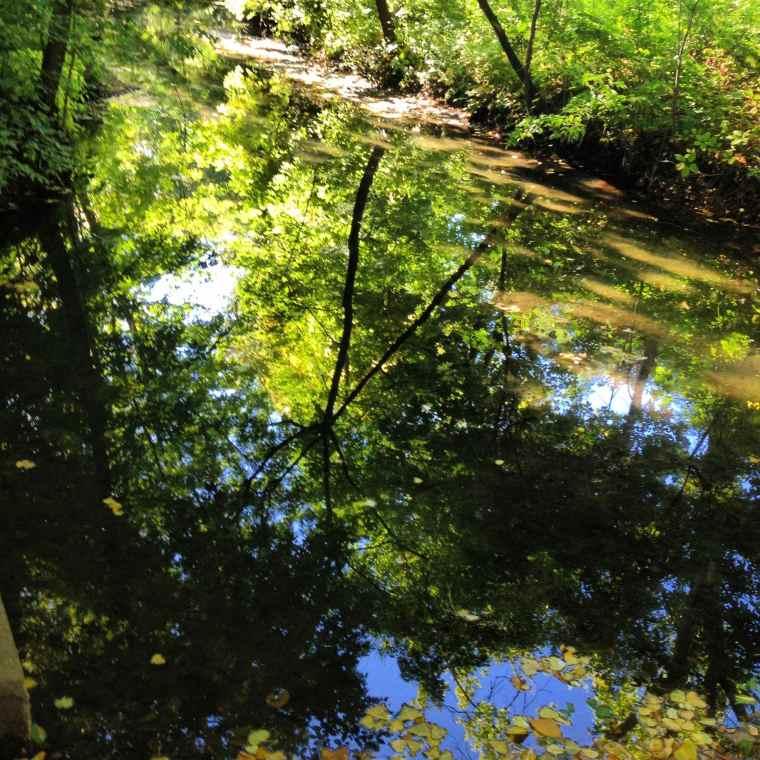 Minnehaha Creek Minneapolis Minnesota