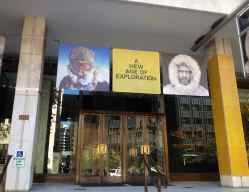 Entrance to National Geographic's Museum