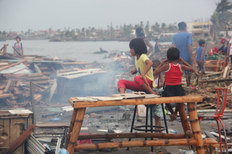Children have been some of the hardest hit by the disaster. Photo credit: Save the Children