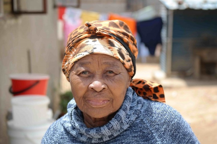 Woman in Alexandra Township
