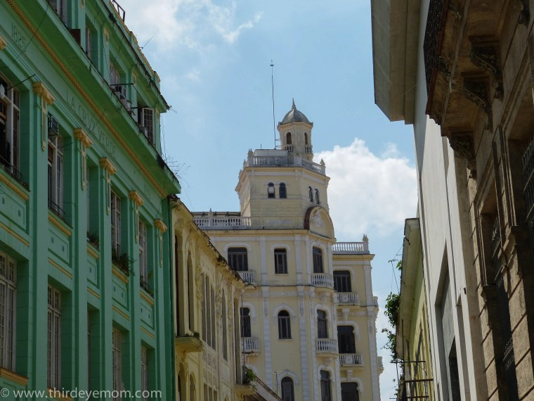 Buildings in Old Havana