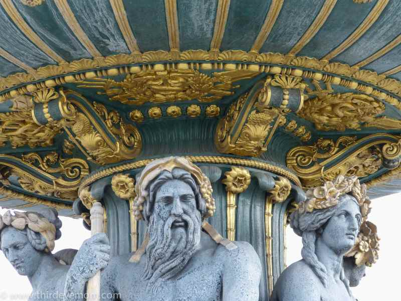 Fountains in Paris