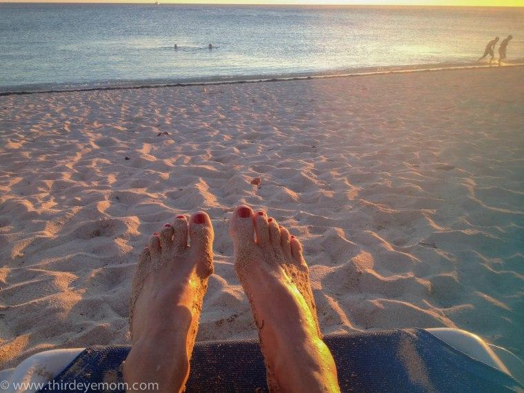 The beach at Hotel Brisas del Mar Trinidad Cuba