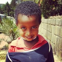 Ethiopian child