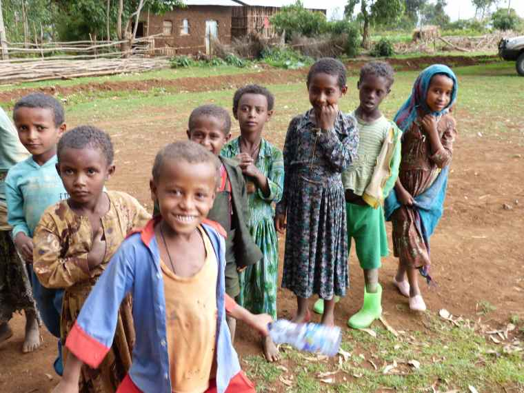 The children of Mosebo village.
