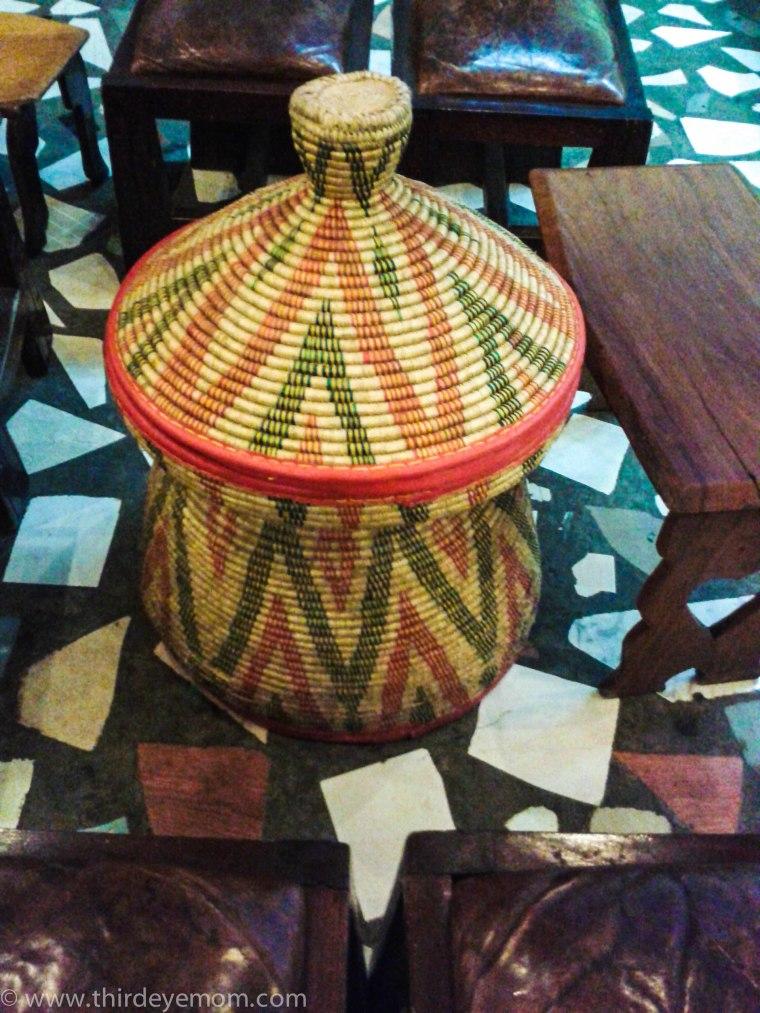 Ethiopian basket