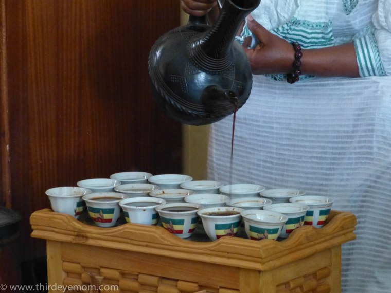 Traditional Ethiopian coffee