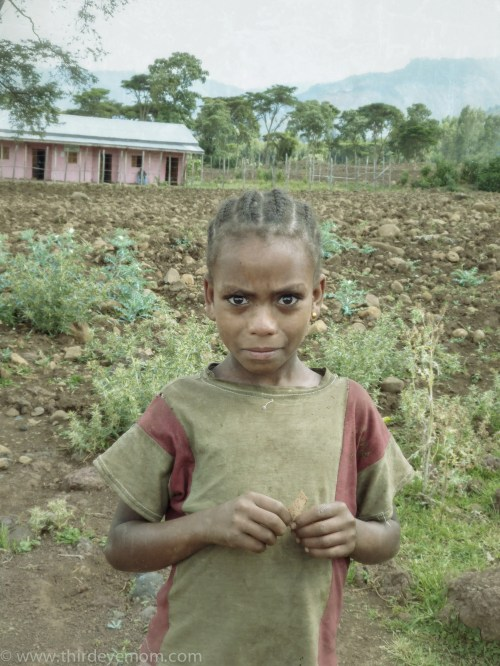 Rural Ethiopian Girl