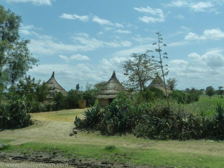 Tukuls in Ethiopia