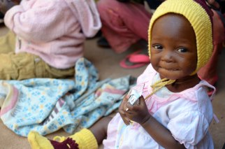 Children in Burkina Faso who have benefited by Plumpy'Nut nutritional paste. Photo Credit: Edesia