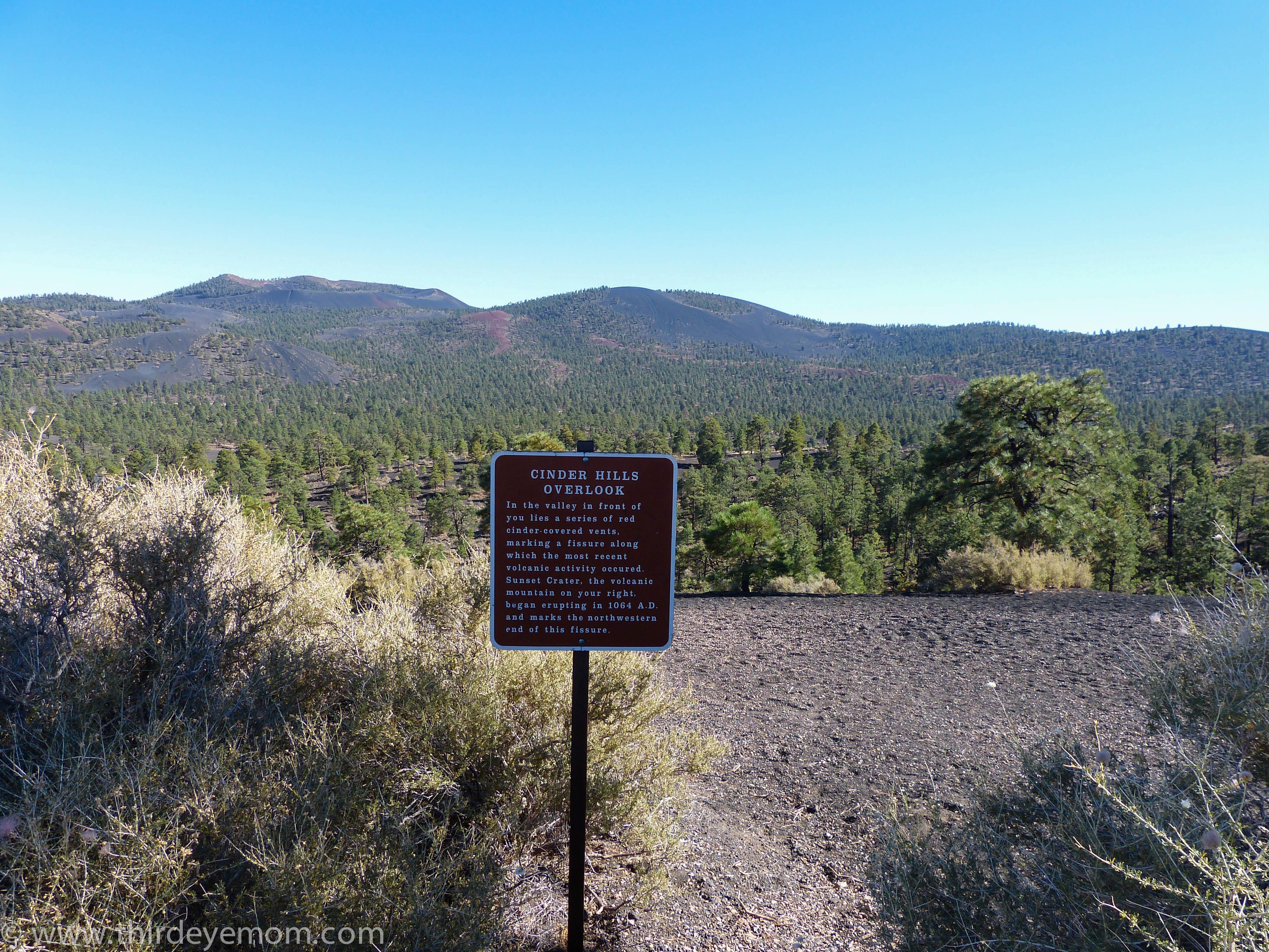 Sunset Crater Volcano National Park Arizona