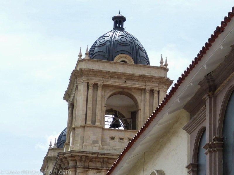 Churches in La Paz Bolivia