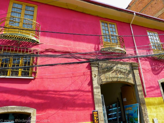 La Paz Bolivia buildings