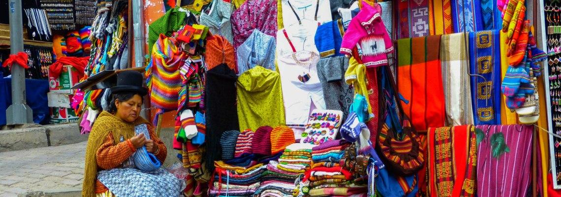 Street Vendors La Paz, Bolivia