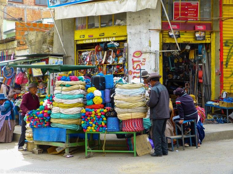 Black Market La Paz Bolivia