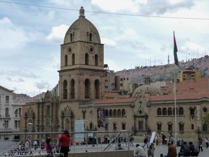 La Paz Bolivia churches