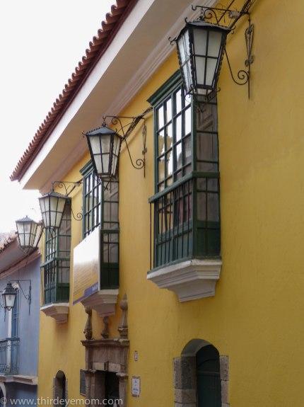 Calle Jaén La Paz Bolivia