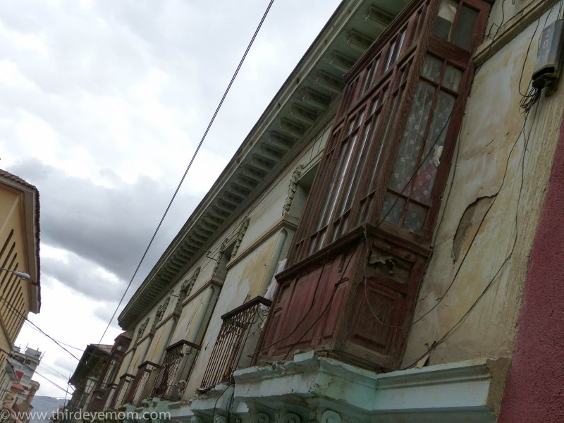 Buildings in La Paz, Bolivia