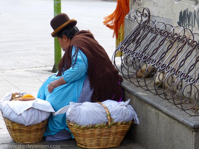 Woman in La Paz, Bolivia