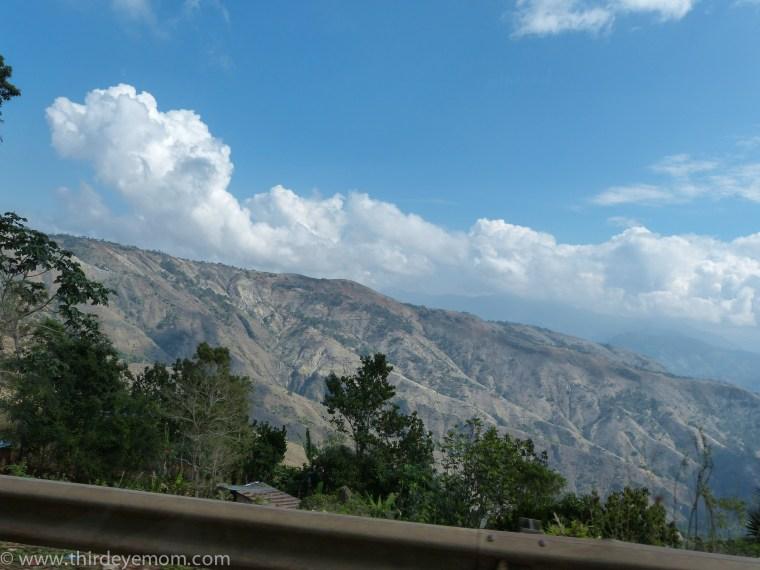 Haiti countryside