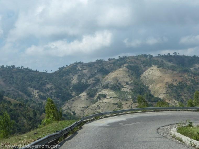 Haitian countryside